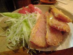Ham cutlet(ハムカツ) @syotemae