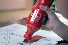 Coca-Cola has launched a new campaign called '2nd Lives,' which creates useful objects such as paintbrushes and pencil sharpeners. | 2014