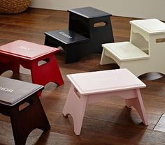 Two-Step Stool - Much better than just one. Especially for little ones.