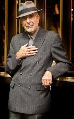 Legend Leonard Cohen