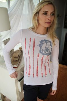 The Big Red Neck Trading Post - Freedom Flag Thermal Shirt, $27.00 (http://www.thebigrednecktradingpost.com/products/freedom-flag-thermal-shirt.html)
