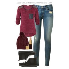 Teen Wolf - Scott McCall Inspired Christmas Eve Outfit by staystronng