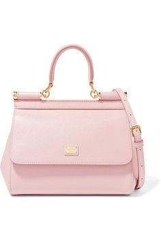 Dolce  amp  Gabbana - Sicily Small Textured-leather Tote - Baby pink  Crossbody Tote 8fbc14fecc