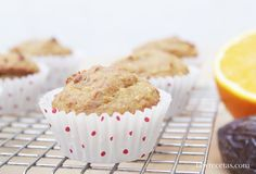 mini muffin de naranja y dátiles