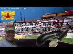 HO DCC Layout - Static grass, Applicator, Vac Woodland, Grass, Layout, World, Youtube, Page Layout, Grasses, The World, Youtubers