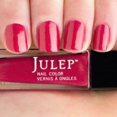 evie-fresh-picked-raspberry-creme-with-gold-shimmer-nail-polish-swatch