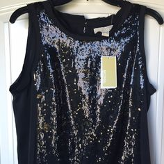 NWT Michael Kors dress Michael Kors dress   new with tags   sequined dress   size 12   just passed the knees   no trading   fast shipping Michael Kors Dresses