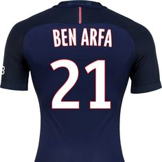 BEN ARFA'S PRINTING AVAILABLE ON THE 16/17 Jersey