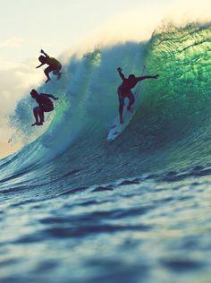 Yep. I WILL be surfing.