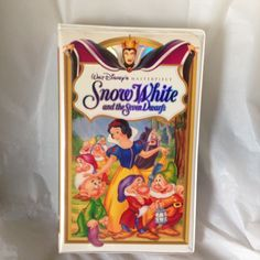 Snow White and the Seven Dwarfs (VHS, 1994) Disney Masterpiece Collection