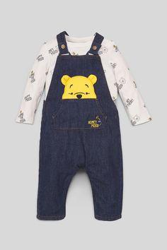 Graues Babyset Winnie The Pooh Disney