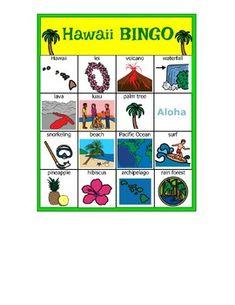 Hawaii BINGO
