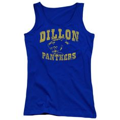 "Checkout our #LicensedGear products FREE SHIPPING + 10% OFF Coupon Code ""Official"" Friday Night Lights / Dillon Panthers - Juniors Tank Top - Friday Night Lights / Dillon Panthers - Juniors Tank Top - Price: $29.99. Buy now at https://officiallylicensedgear.com/friday-night-lights-dillon-panthers-juniors-tank-top"