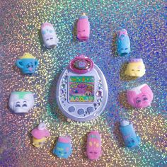 """yukichi357: """" ✨🌈👶🍼🌈✨ My fluffy baby shopkins collection is growing rapidly… They're just too cute 💘 #たまごっち #ひめスペっち #ショップキンズ #tamagotchi #tamagotchips #tmgc #bandai #shopkins #shopkinsworld #shopkinslove #moosetoys #toystagram #toycollector..."""