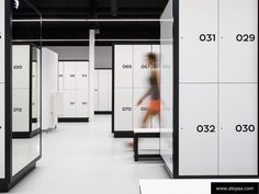 ATEPAA clothes gym lockers for design changing room.