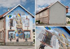 Fake Facades: Transformative Murals Make Cities Vibrant