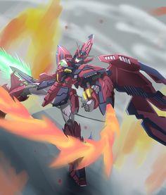 a collection of gundam artwork from around the web Arte Gundam, Gundam Wing, Gundam Art, Robot Art, Robots, Dark Warrior, Gundam Wallpapers, Frame Arms Girl, Gundam Custom Build