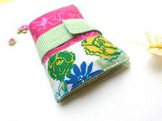 Neat and Discreet Wallet Lilly Pulitzer Party Patch. $27.00, via Etsy. need