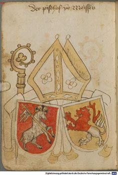 Ortenburger Wappenbuch Bayern, 1466 - 1473 Cod.icon. 308 u  Folio 212v