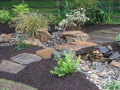 flagstone dry riverbed - Google Search