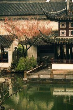 "【美丽的中国】流丹(苏州园林)--  ""Beautiful China"" flow Dan (garden)"