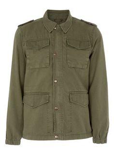 Khaki Field Jacket
