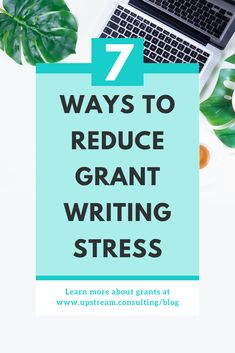 How to reduce grant writing stress : Grant writing can be super stressful. But there are some strategies you can implement TODAY to make grants much more enjoyable. Click through to read about the 7 strategies we use to keep our grant writing sanity. Disability Grants, Grant Money, Grant Writing, Business Writing, Stress Less, Business Motivation, Non Profit, Fundraising, Budgeting