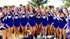 College Cheerleading, Football Cheerleaders, College Football, Kansas State University, Kansas State Wildcats, Girly Games, Beautiful Ladies, Conference, Cute Pictures