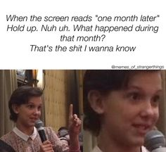 """917 Likes, 14 Comments - StrangerThingsMemes (@memes_of_strangerthings) on Instagram: """"Did mike see Eleven after she closed the gate? Where did Hopper take El? How long did it take Will…"""""""