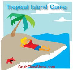 Tropical island game is a fun #HomeParty game: http://www.createacashflowshow.com/party-games/the-island-game.htm