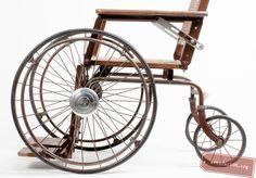 From Toni Bal- a stunning 50's wheelchair. http://artifactgr.org/toni-bal-wheelchair/