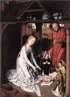 Nativity - Hans Memling
