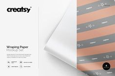Wrapping Paper Mockup Set by creatsy2 on @creativemarket