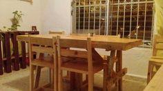 Mesa comedor de pallets