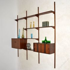 Antiques Atlas - 1960's Vintage Danish Rosewood PS Shelving System