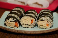 Tofu Sushi Roll