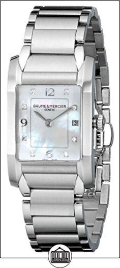 Baume & Mercier MOA10050de las mujeres cuarzo acero inoxidable nácar Dial reloj por Baume & Mercier  ✿ Relojes para mujer - (Lujo) ✿