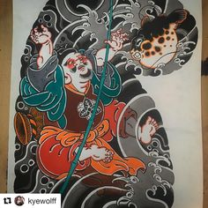 Japanese Tattoo Designs, Japanese Tattoo Art, Japanese Art, Asian Tattoos, Japan Tattoo, Oriental Tattoo, Samurai Tattoo, Mini Tattoos, Tattoo Sketches