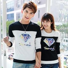 Buy 'Lovebirds – Long-Sleeve Printed Couple Pullover' with Free Shipping at YesStyle.co.uk. Browse and shop for thousands of Asian fashion items from China and more!