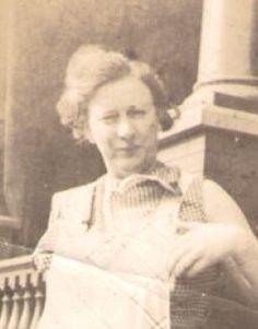 Alva Netty Tompkins 1900 -  My Paternal Grand Aunt