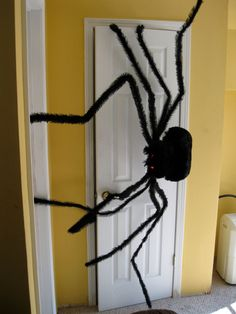 9 Feet Huge Spider Lighted Monster Haunted House Halloween Party Prop 9'