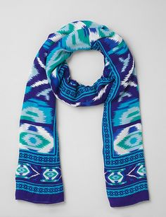 Accessories | Scarves & Wraps | Oversized Ikat Scarf