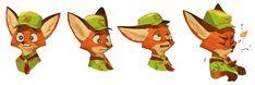e621 anthro boy_scout canine cute disney fox fur hat male mammal nick_wilde orange_fur solo underguo young zootopia