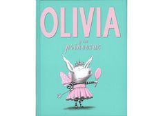 Olivia y las princesas / Libros para niños de 3 a 5 años de edad