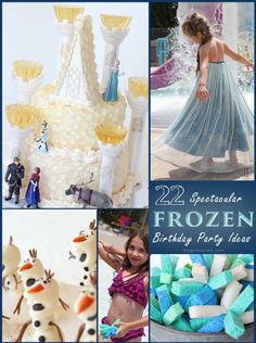 Frozen in Summer birthday party- Elsa Dress.  knit-maybe make for costume box