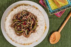 Ricetta Manzo piccante con peperoni e germogli di soia - Le Ricette di GialloZafferano.it