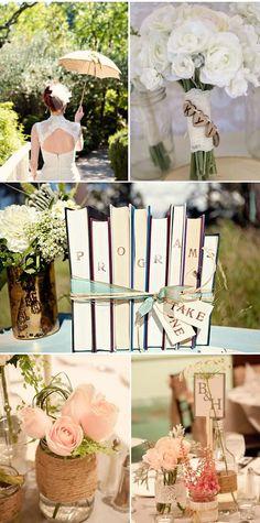 Woodsy Sunriver Resort Wedding use old books to put the programs in Woodsy Wedding, Wedding Book, Diy Wedding, Wedding Ideas, Wedding Table, Wedding Stuff, Dream Wedding, Wedding Bells, Wedding Details