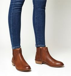 Office, Lone Ranger Casual Boots, Tan Leather