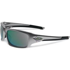 b25b062a01 Oakley Valve Sunglasses - Dark Grey Frame, Emerald Iridium Polarized Lens -  $199.95 USD #