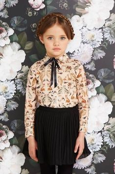 milkmaid braids, little girl outfit                                                                                                                                                                                 More #Kids'Fashion #littlegirloutfits #kidoutfits